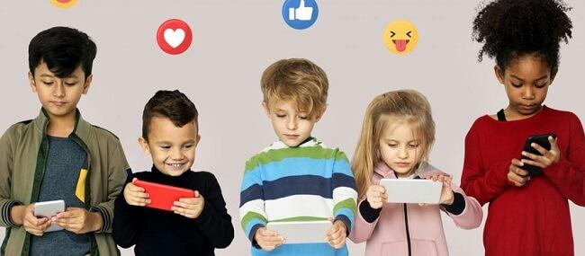 adult social media impact on kids