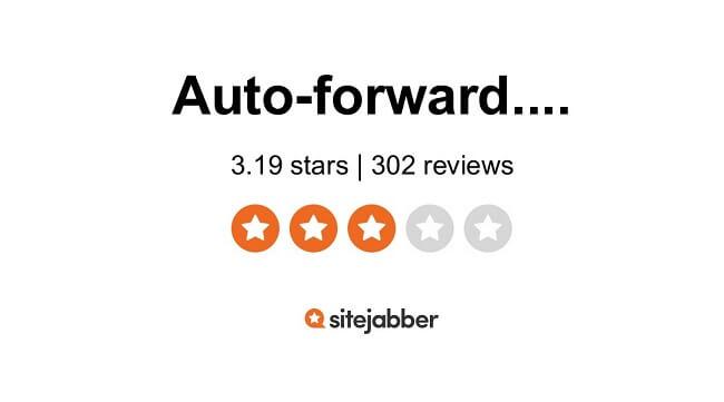 auto forward sitejabber