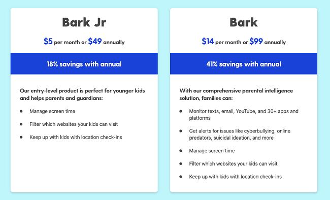 bark app price