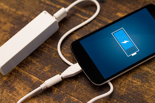 if your phone battery drain quickly, it may be hacked by someone