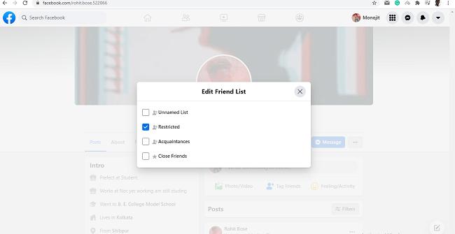browser restricted list