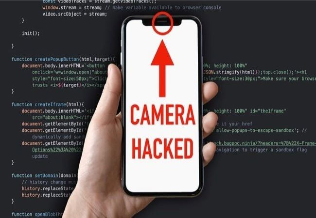 can people hack your phone camera