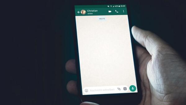 check WhatsApp chat history