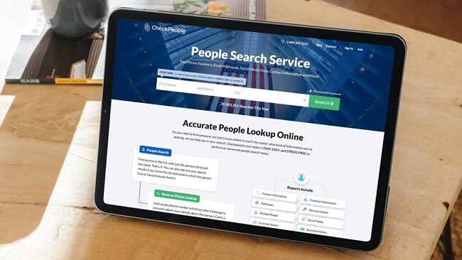 checkpeople service