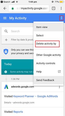 choose my activity