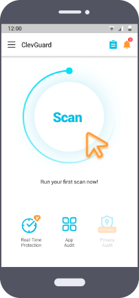 clevguard scan and detect spyware