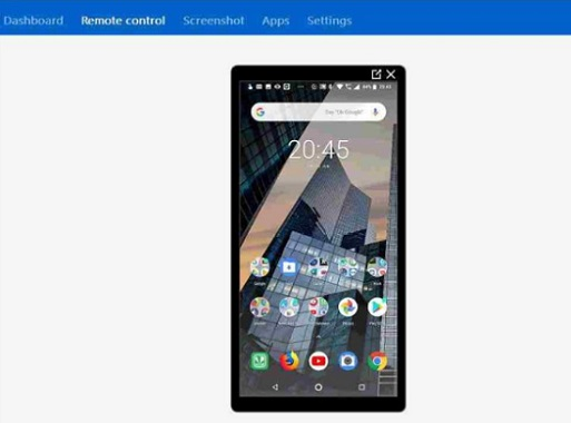 remote control android from pc