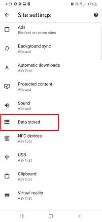 data-stored