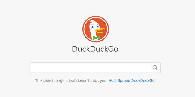 duckduckgo website