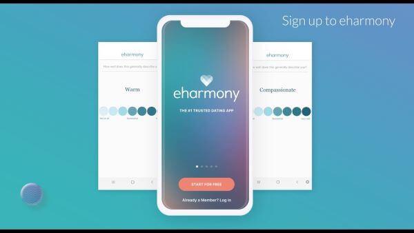 eharmony sign up