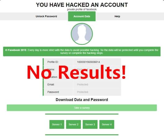 facebook hacking via url