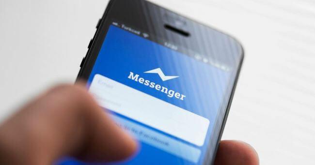 facebook messenger find  location