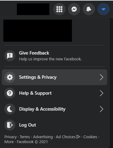 facebook settings privacy