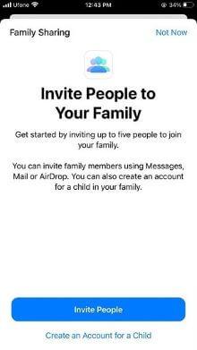family sharing step 4