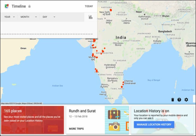 find location on google maps