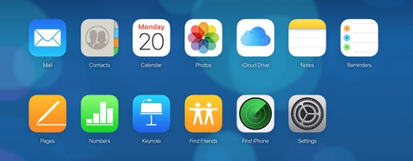 select files from iCloud