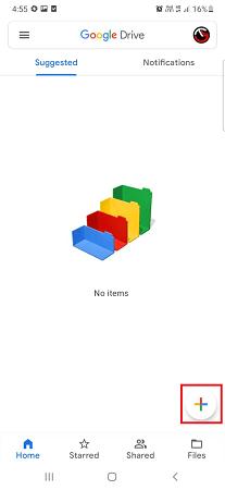 google drive add files