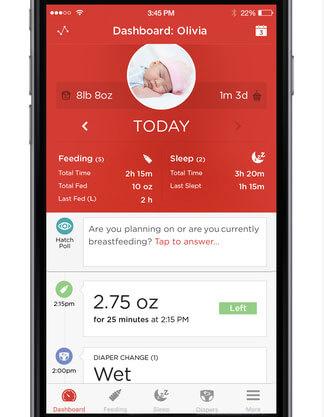 hatch baby app