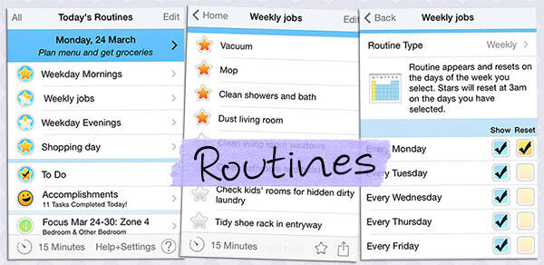 home routine app