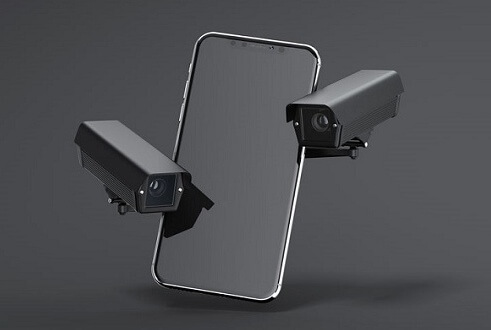 how can spyware control your phones camera microphone