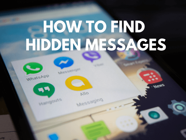how to find hidden messages
