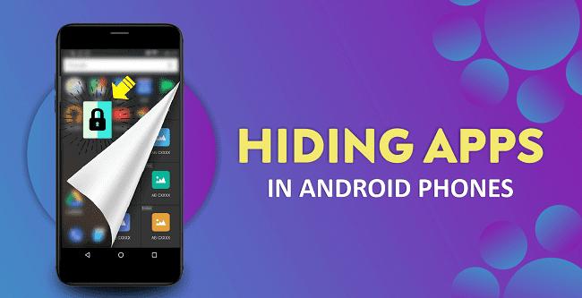 how to hide app