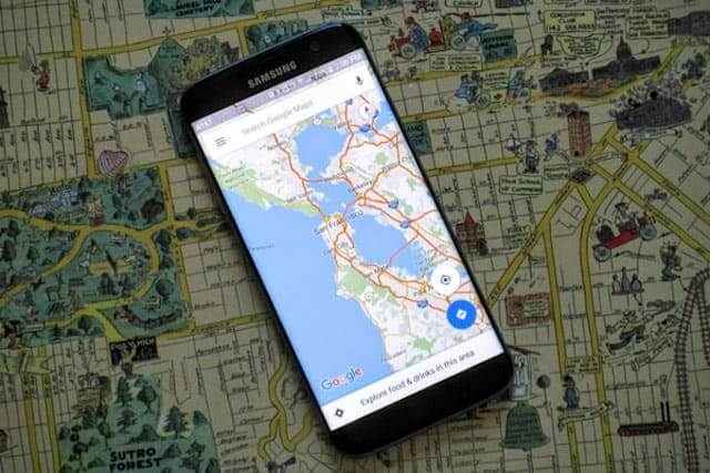 how to track imei number through google earth