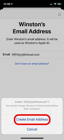 icloud email address