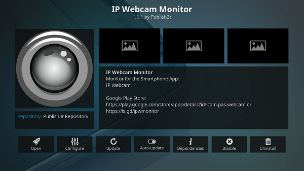 how does ip webcam looks like