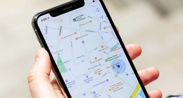 how to find someone's location on iphone