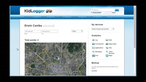 kidlogger application
