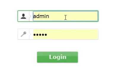 login your router account