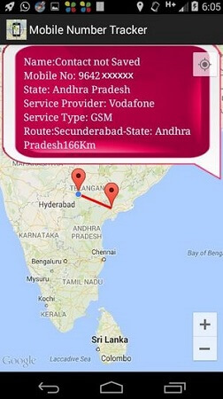 track a cell phone location online with mobile number tracker