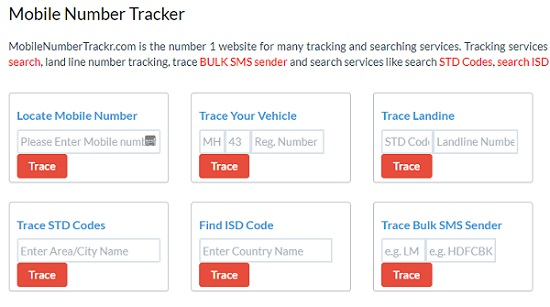 track a cell phone location online by phone number using mobile number tracker