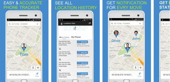 onelocator phone tracker by number