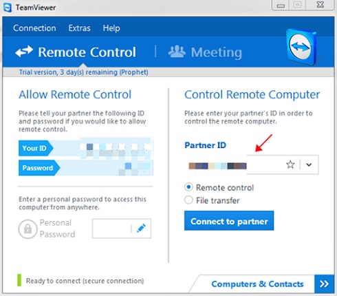 Download Teamviewer latest software for Windows on your computer