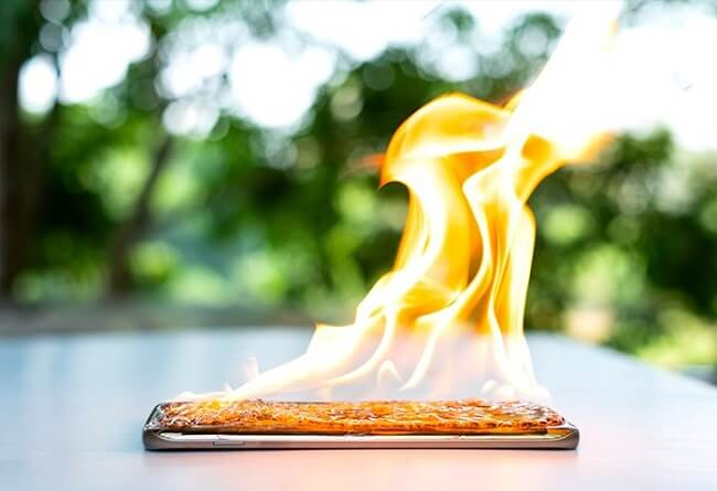 prevent phone gets hot