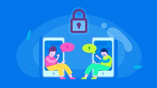 private secret messaging app