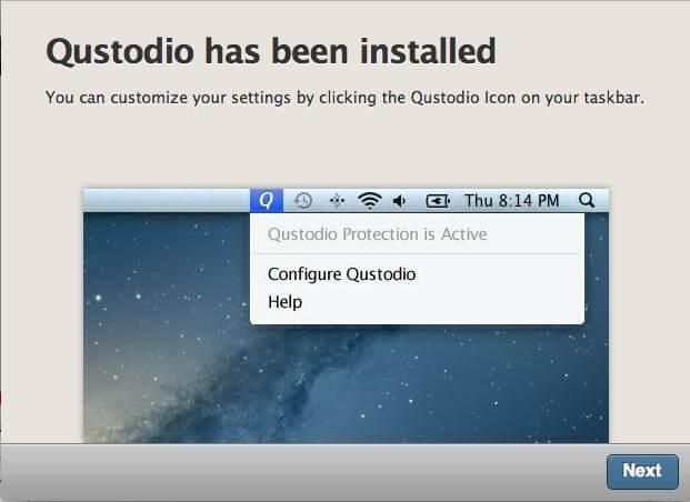 qustodio step