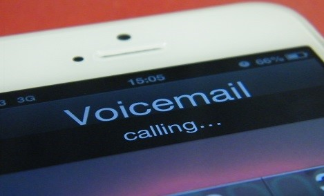 record a voicemail message
