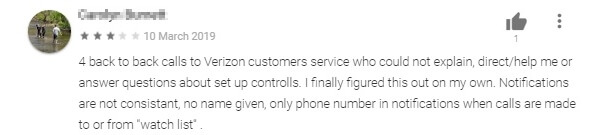 Verizon review 2
