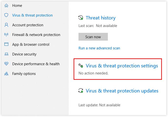 scan viruses and malware on computer