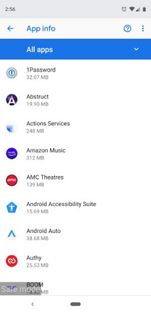 see all apps