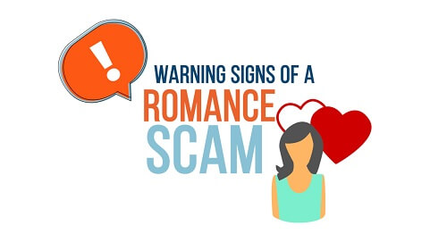 signs of romance scams