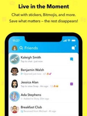 how to see snapchat chat history of others