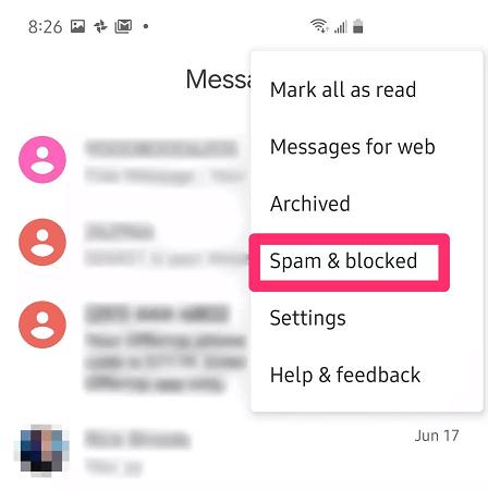 spam blocked
