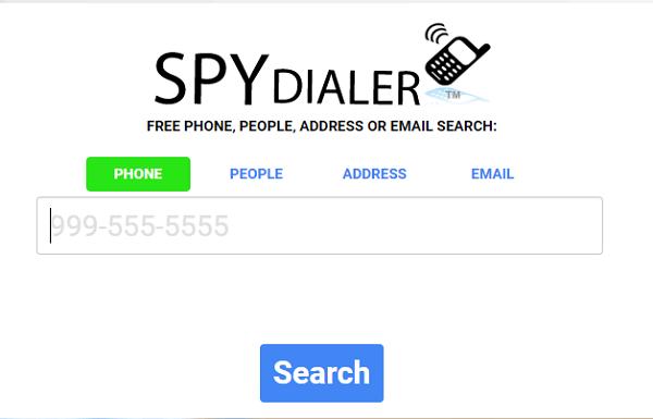 Spy Dialar reverse phone lookup