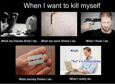 suicide meme