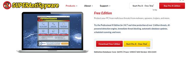 superantispyware download