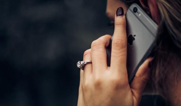 tap someone's phone